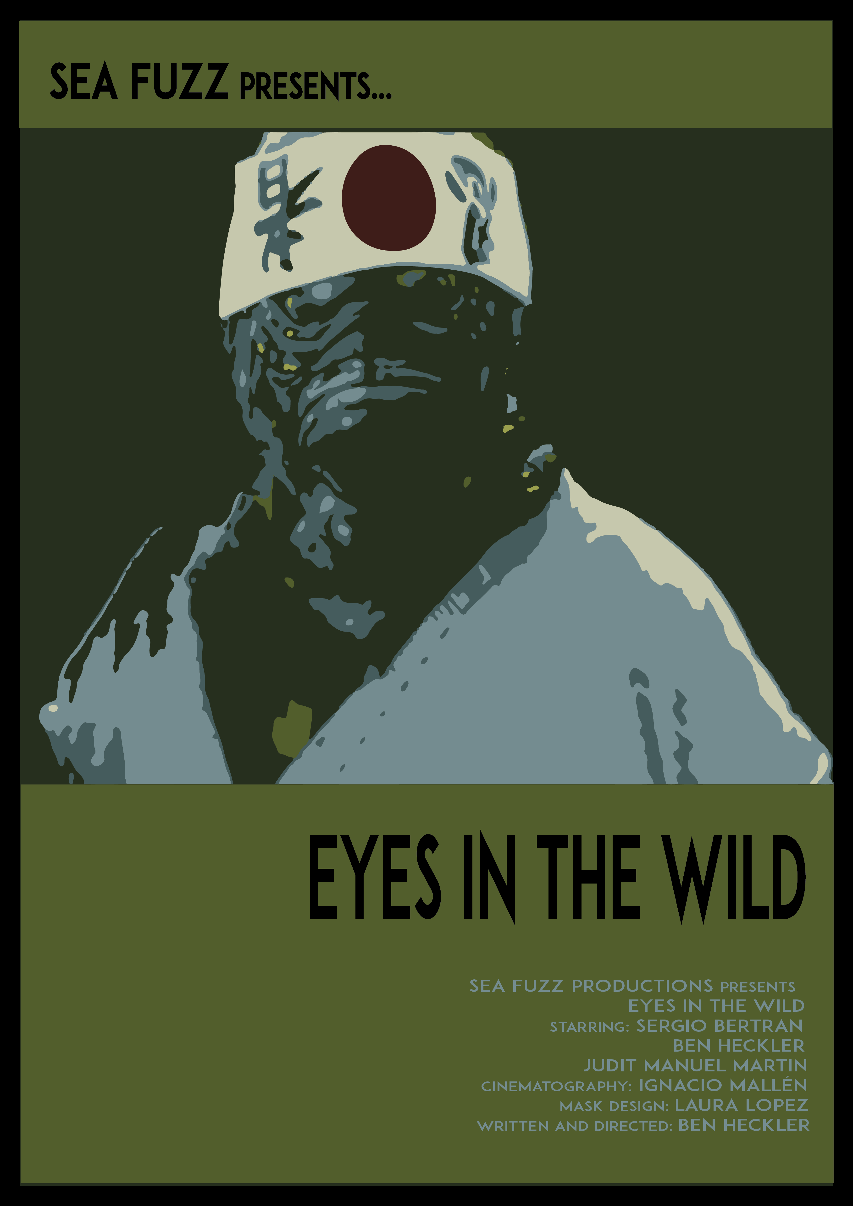 eyes in the wild poster